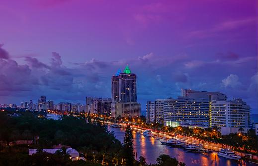 Miami Beach「Sunrise over Miami Beach」:スマホ壁紙(10)