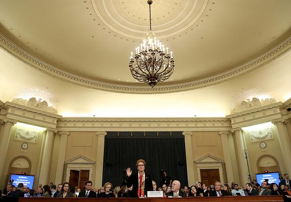 Drew Angerer「Former U.S. Ambassador To Ukraine Marie Yovanovitch Testifies At Impeachment Hearing」:写真・画像(7)[壁紙.com]