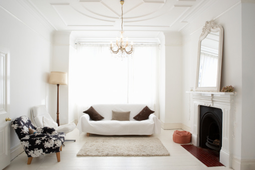 Chandelier「Empty living room」:スマホ壁紙(9)
