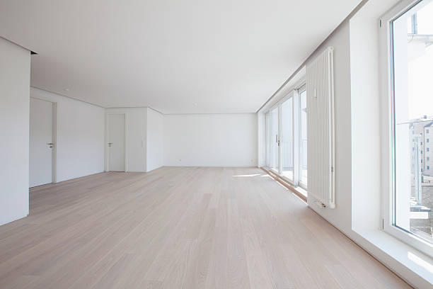 Empty living room in modern apartment:スマホ壁紙(壁紙.com)