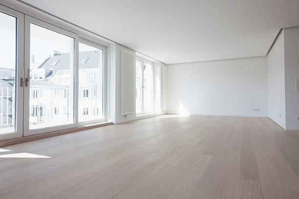 Empty living room in modern apartment:スマホ壁紙(壁紙.com)