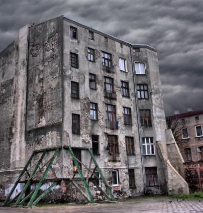 19th Century「Abandoned, Broken Building」:スマホ壁紙(8)