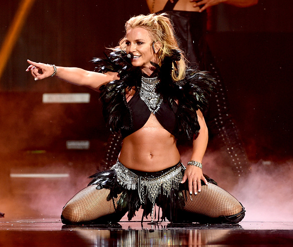 Britney Spears「2016 iHeartRadio Music Festival - Night 2 - Show」:写真・画像(2)[壁紙.com]