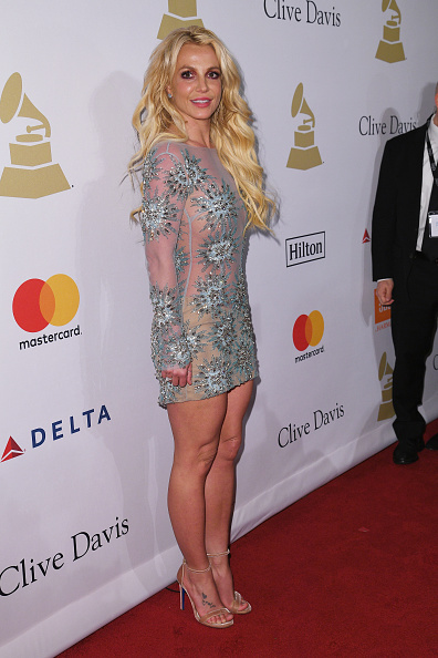 Britney Spears「Clive Davis' and the Recording Academy's 2017 Pre-GRAMMY Gala and Salute To Industry Icons Honoring Debra Lee - Arrivals」:写真・画像(7)[壁紙.com]