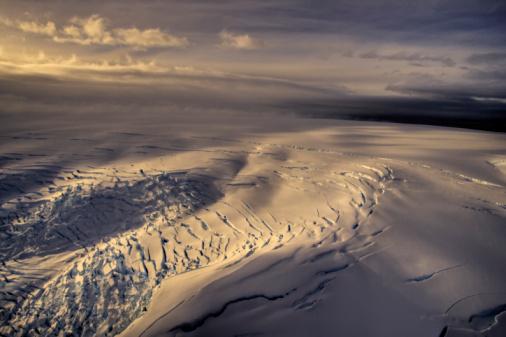 Snowdrift「Antarctica, Patagonia Bay, aerial view」:スマホ壁紙(4)
