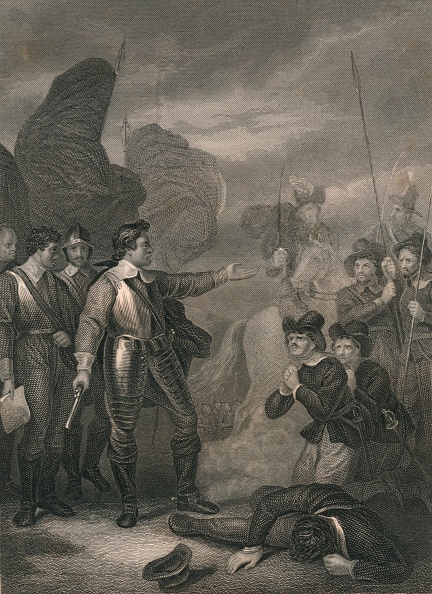 Pleading「Cromwell Suppressing The Mutiny In The Army」:写真・画像(7)[壁紙.com]