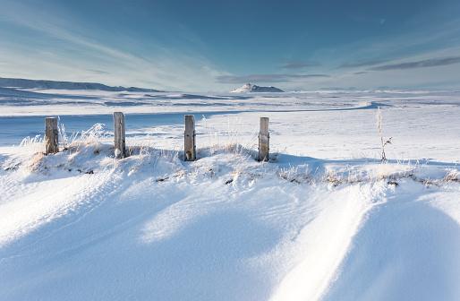 Snowdrift「View Towards Eilifur Mountain - North Iceland」:スマホ壁紙(3)