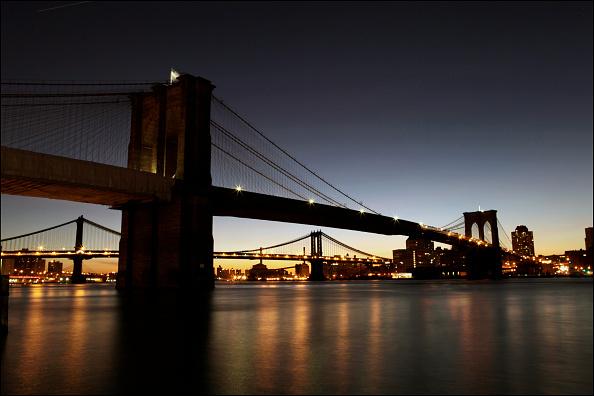 夜景「Brooklyn Bridge Sunrise」:写真・画像(19)[壁紙.com]