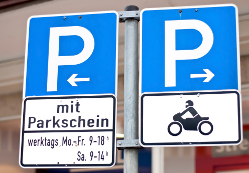 Motorcycle「parking」:スマホ壁紙(5)