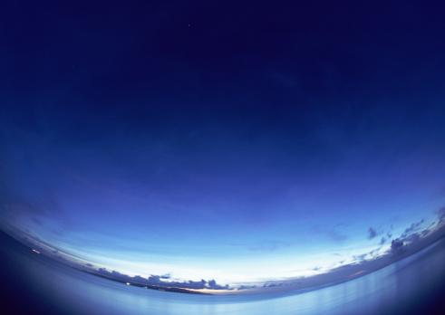 海「Sea and sky」:スマホ壁紙(8)