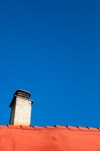 Camino De Santiago「Chimney on a roof, Azofra, Camino de Santiago, Spain」:スマホ壁紙(13)