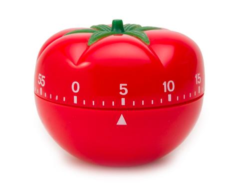 Counting「Tomato Timer Clock」:スマホ壁紙(17)
