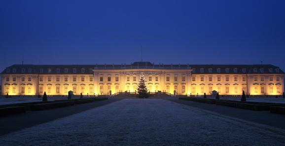 Boulevard「Palace Ludwigsburg Winter Night」:スマホ壁紙(0)