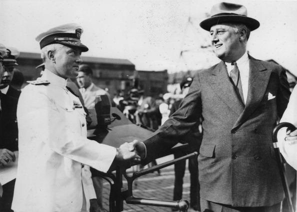 Franklin Roosevelt「Richard Evelyn Byrd und Franklin Rossevelt」:写真・画像(13)[壁紙.com]