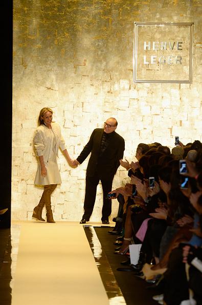 Fernanda Calfat「Herve Leger By Max Azria - Runway - Mercedes-Benz Fashion Week Fall 2015」:写真・画像(0)[壁紙.com]