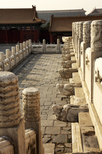 Alabaster「Carved alabaster railings in Forbidden City」:スマホ壁紙(1)