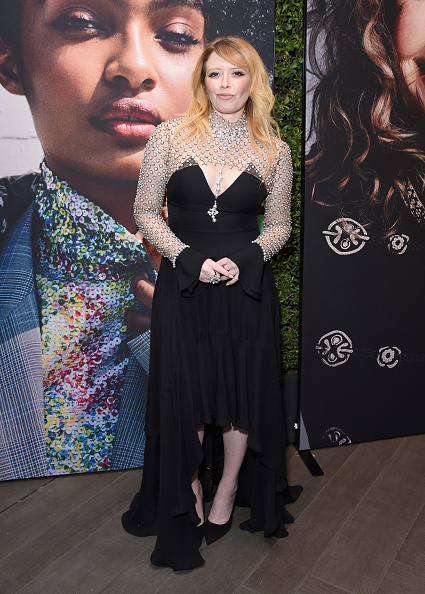 Flounced Dress「ELLE's 25th Annual Women In Hollywood Celebration Presented By L'Oreal Paris, Hearts On Fire And CALVIN KLEIN - Hearts On Fire」:写真・画像(11)[壁紙.com]