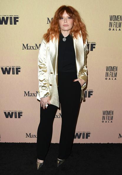 Metallic「Women In Film Annual Gala 2019 Presented By Max Mara - Arrivals」:写真・画像(18)[壁紙.com]
