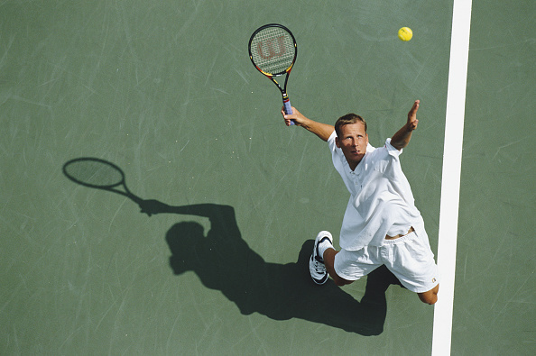 High Angle View「US Open Tennis Championship」:写真・画像(8)[壁紙.com]