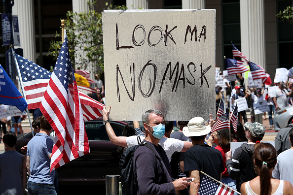 Reopening「Protests To Reopen Businesses, Beaches, And Parks」:写真・画像(10)[壁紙.com]