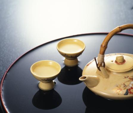 Sake「Sake pot and cups」:スマホ壁紙(14)