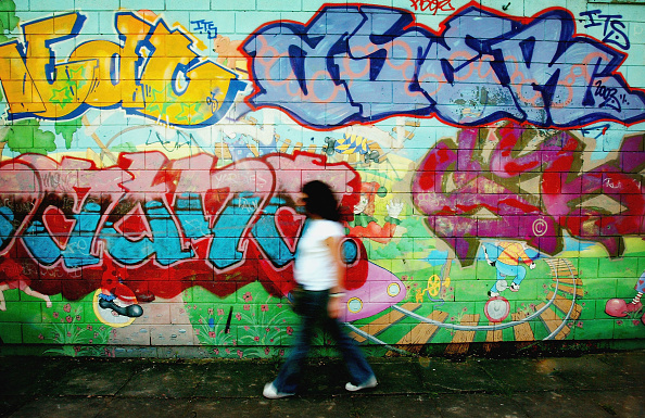 Graffiti「New Laws To Curb Ant Social Behaviour Come Into Force」:写真・画像(9)[壁紙.com]