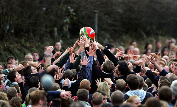 Tradition「Players Participate In The Shrovetide Football Game」:写真・画像(10)[壁紙.com]