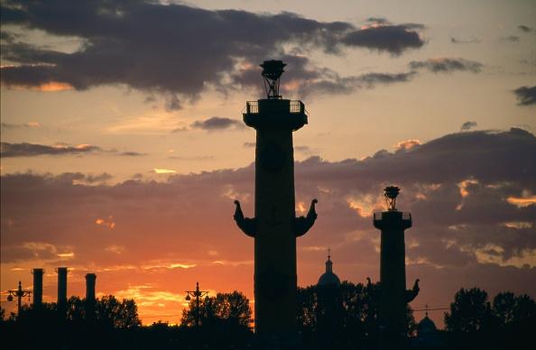 Cityscape「Midnight sun over St. Petersburg」:写真・画像(16)[壁紙.com]