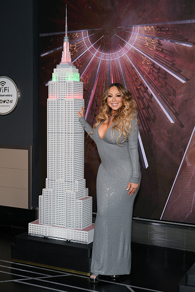 "Empire State Building「Mariah Carey Lights The Empire State Building In Celebration Of The 25th Anniversary Of ""All I Want For Christmas Is You""」:写真・画像(14)[壁紙.com]"