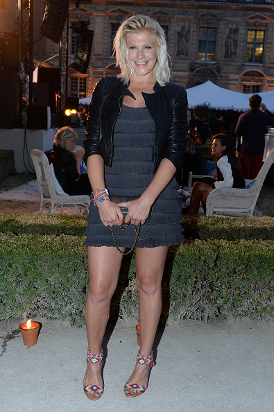 Leather Jacket「Tory Burch Paris Flagship Opening After Party」:写真・画像(10)[壁紙.com]