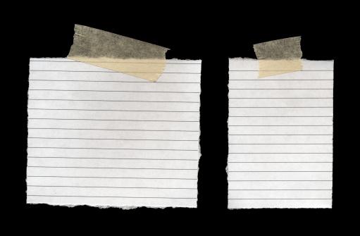 Adhesive Note「Notepad Page」:スマホ壁紙(11)