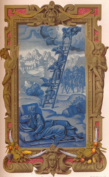 Chromolithograph「Jacobs Dream」:写真・画像(13)[壁紙.com]