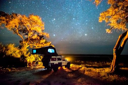 Botswana「Camping」:スマホ壁紙(1)