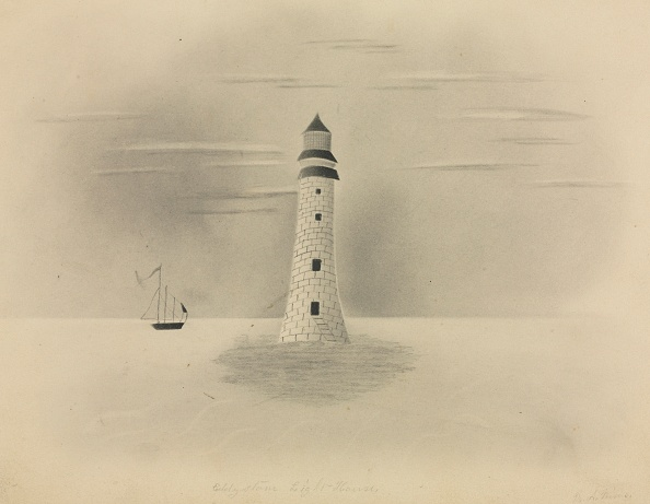 Pencil「Eddystone Lighthouse」:写真・画像(6)[壁紙.com]