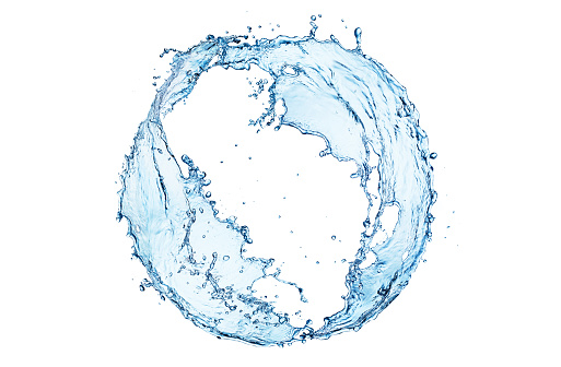 Swirl Pattern「Water splash circle」:スマホ壁紙(18)