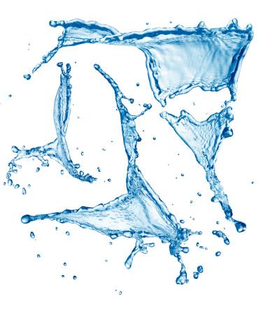 Transparent「Water splash」:スマホ壁紙(4)