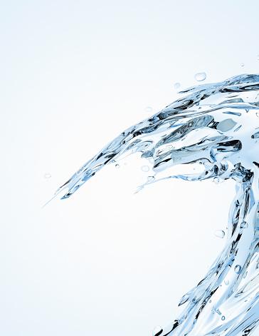 Splashing「Water splash」:スマホ壁紙(9)