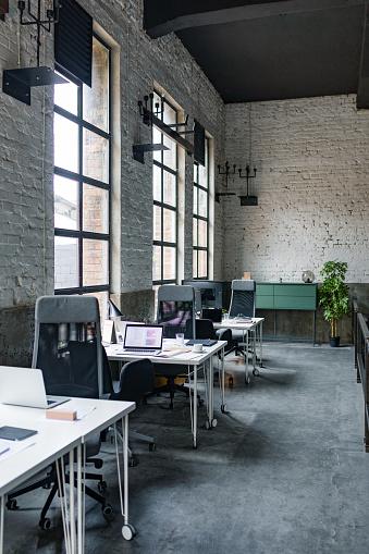 Open Plan「Modern Coworking Office」:スマホ壁紙(5)
