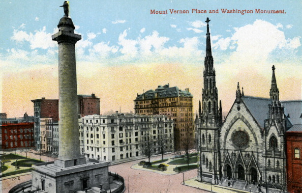 City Life「Baltimore: Mount Vernon Place」:写真・画像(10)[壁紙.com]