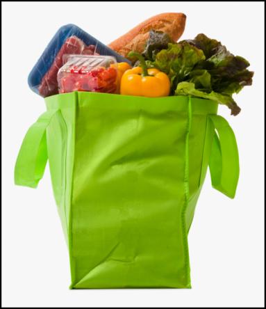 Reusable Bag「Full grocery bag」:スマホ壁紙(9)