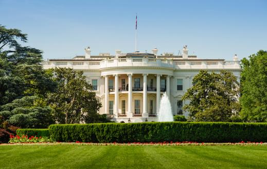 Politics「The White House in Washington DC」:スマホ壁紙(4)