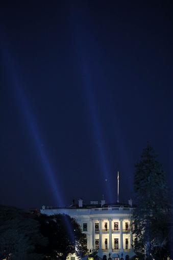Bestof「The White House illuminated」:スマホ壁紙(1)