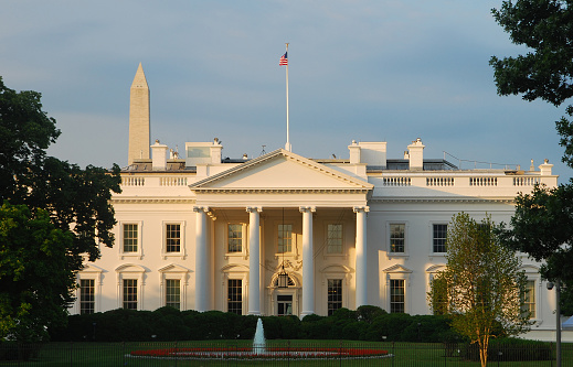 US Republican Party「The White House at sunrise (North)」:スマホ壁紙(16)