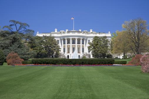 Patriotism「The White House and grounds, Washington DC, USA」:スマホ壁紙(7)