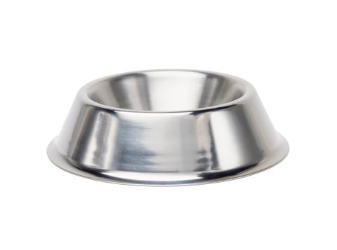 Metallic「Shiny metal dog bowl」:スマホ壁紙(1)