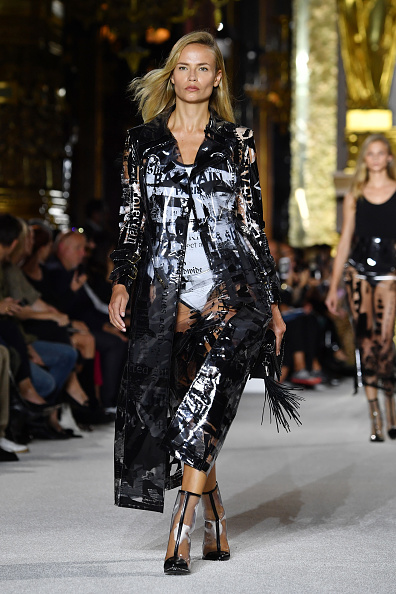 Balmain「Balmain : Runway - Paris  Fashion Week Womenswear Spring/Summer 2018」:写真・画像(14)[壁紙.com]