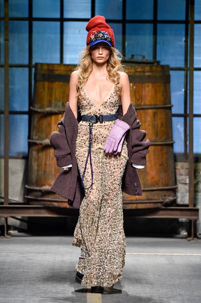 Knitted「Dsquared2 - Runway - Milan Men's Fashion Week Fall/Winter 2017/18」:写真・画像(1)[壁紙.com]