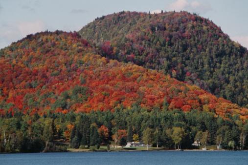 Great Lakes「Homes along shore of Lake Superior in Canada」:スマホ壁紙(16)