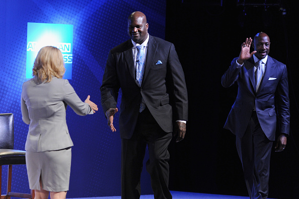 Doris Burke「American Express Teamed Up With Shaquille O'Neal And Alonzo Mourning」:写真・画像(6)[壁紙.com]