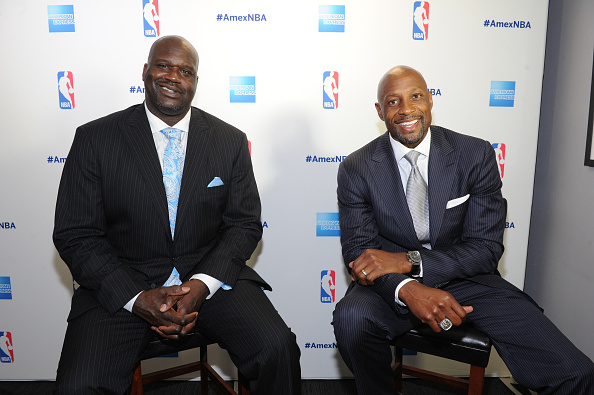 アロンゾ モーニング「American Express Teamed Up With Shaquille O'Neal And Alonzo Mourning」:写真・画像(0)[壁紙.com]